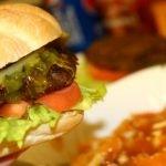Homemade 6 oz Burger